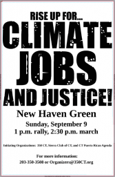 Climate, Jobs, & Justice Poster 2018